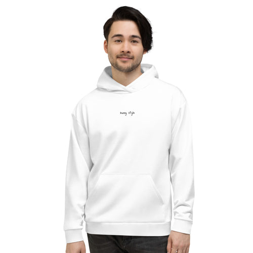 White Bunny Style Hoodie