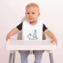 Load image into Gallery viewer, Bunny Style Baby Bib