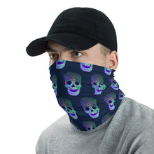 Load image into Gallery viewer, Glowing Skulls Face Mask