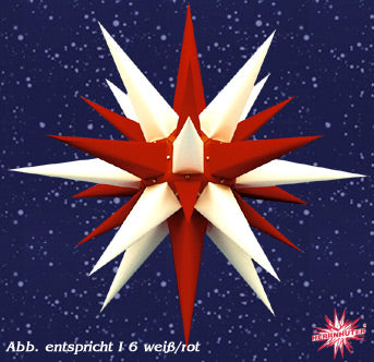 Candy Cane Paper Lighted Star