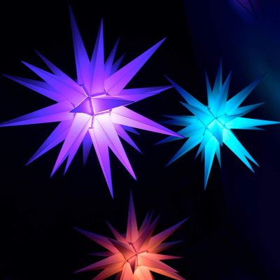 Color Changing Lighted Star