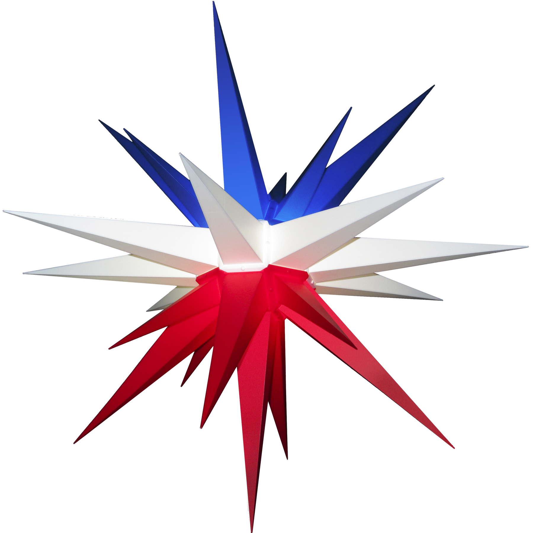 Star Of Texas >> 3d Moravian Lighted Star Lone Star Texas Flag