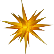 Yellow Lighted Star