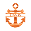 Anchor Monogram - Metal Decor