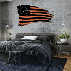 Betsy Ross Distressed Battle Flag