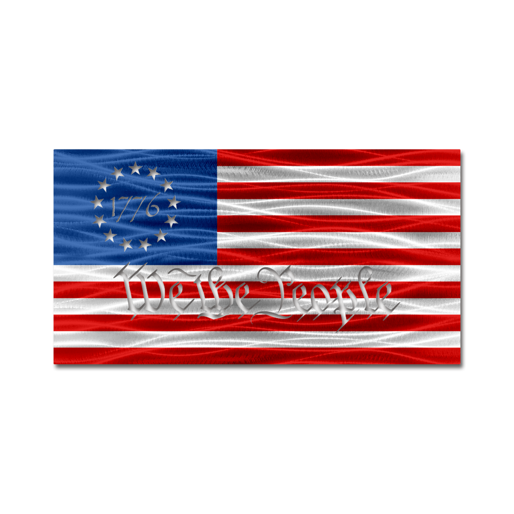 "Betsy Ross ""We The People"" American Flag"