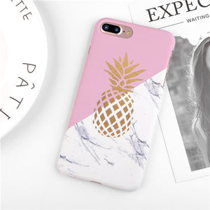 Golden Pineapple iPhone Case