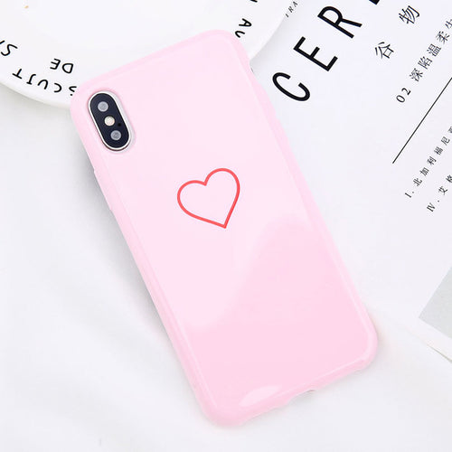 Heart Pink iPhone Case