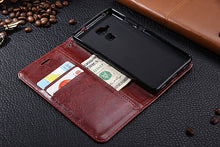Load image into Gallery viewer, Luxury Leather Look Case For Huawei - Red