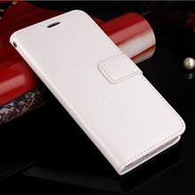 Load image into Gallery viewer, Luxury Leather Look Case For Huawei - White