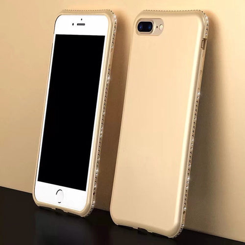 Diamond Look Laced Colored iPhone Cases