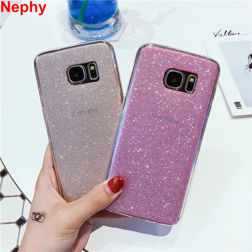 Sparkling Phone Cases for your Samsung - 5 Colors Available