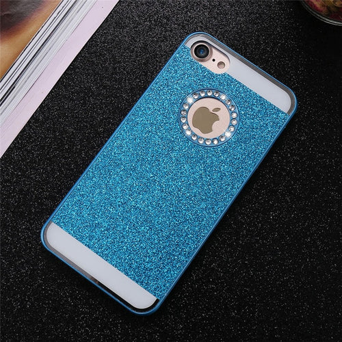 Bling Exotic iPhone Case - Blue