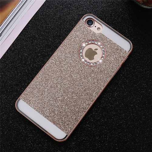 Bling Exotic iPhone Case - Gold