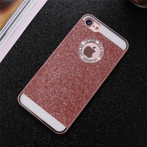 Bling Exotic iPhone Case - Rose Gold