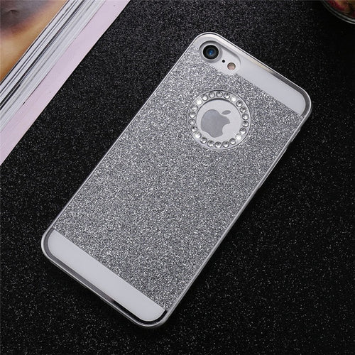Bling Exotic iPhone Case - Silver
