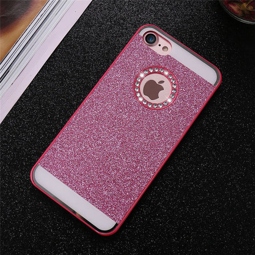 Bling Exotic iPhone Case - Pink