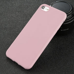 Matte Pink Soft iPhone Case