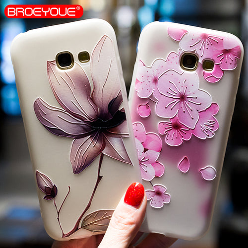 Stunning Floral Case for All Samsung Models 8 Styles