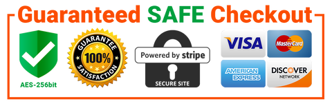 Trust Badge, Guaranteed SAFE Checkout