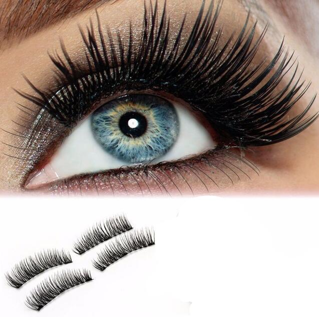 Shozy Magnetic Eyelashes with Application on Eye Close up Look