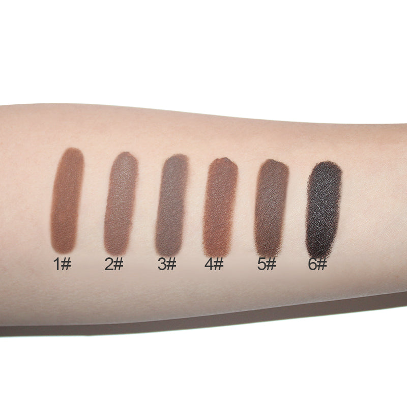 Professional Eyebrow Gel Colours on Hand Comparison