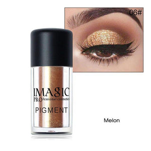 Waterproof Glitter Eyeshadow Metallic Powder