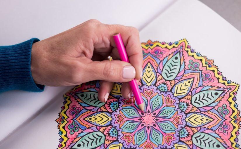 Host an Adult Coloring Party