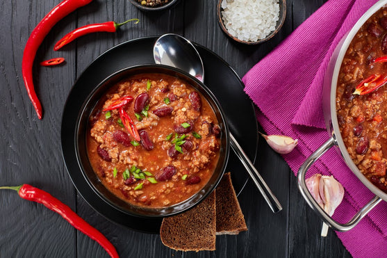 RECIPE: 3-Alarm Chili