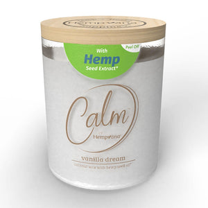 Calm by Hempvana Scented Candles