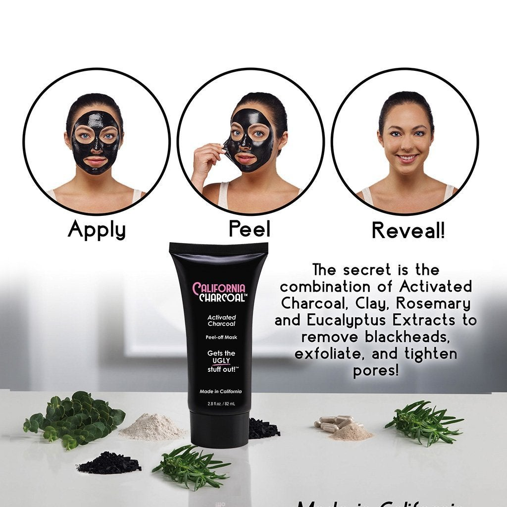 California Charcoal Facial Mask image from BulbHead