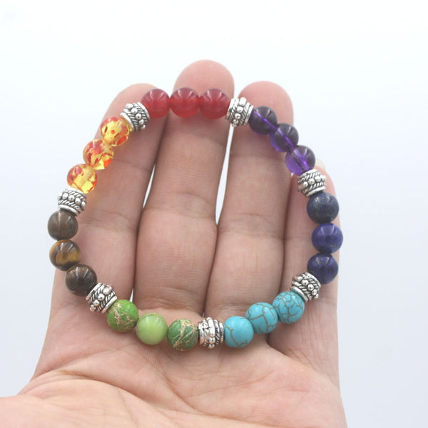 7 Chakra Mala Bracelet For Women Jewelry