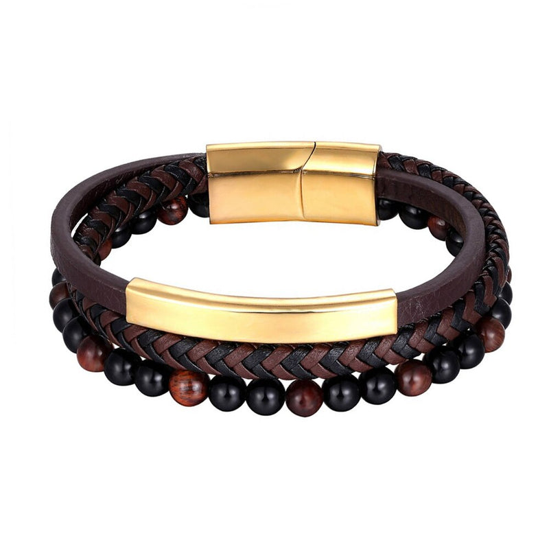 Bohemian Charm Bangle Leather