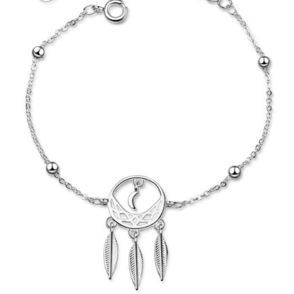 DREAM CATCHER BRACELET - MOON