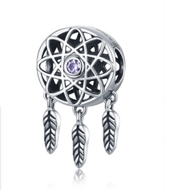 DREAM CATCHER BRACELET - FLOWER CHARM