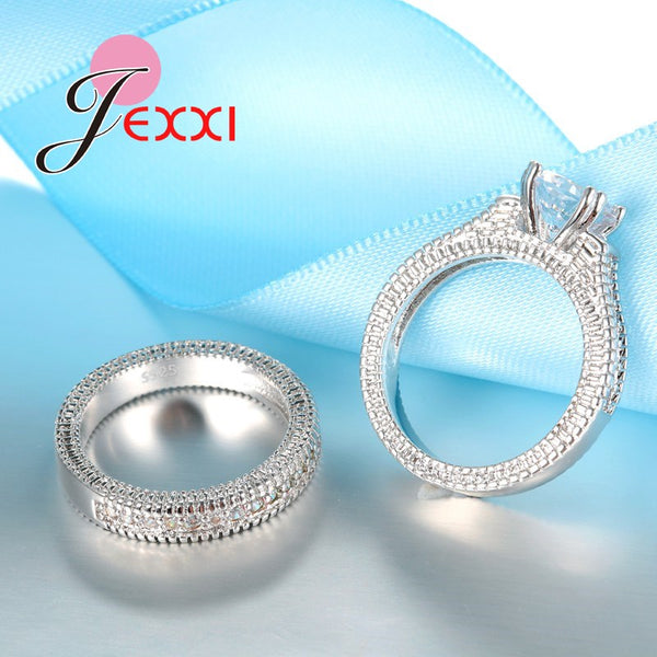 925 Stamped Sterling Silver Ring Sets