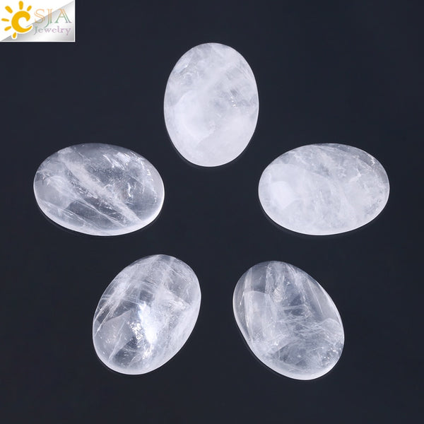 1pc Natural Gem Stone White Crystal