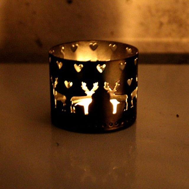 Xms Hollow Candle Holder