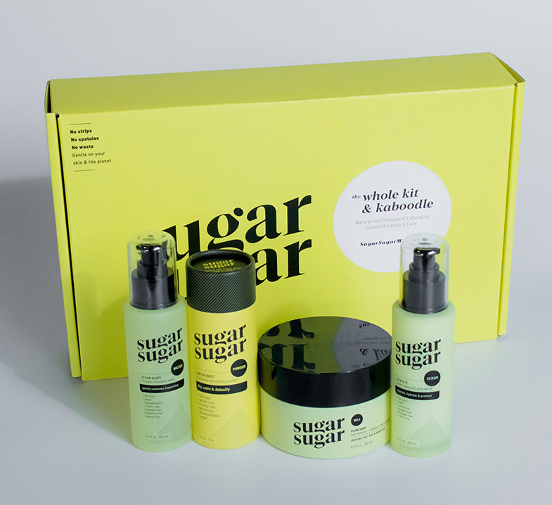 April - Sugaring Facial Certification Course + Kit