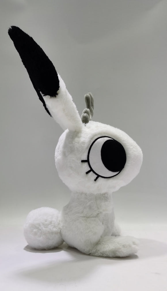 Large Fluffy Support Bunny Plush