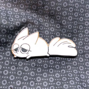 Sleepy - Anxiety Fox Enamel Pin