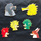 Small Might My Doggo Academia Enamel Pin