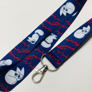 Anxiety Fox Lanyard