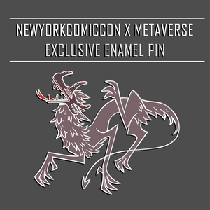 Vejigante Demon - NYCC 2020 Exclusive Enamel Pin