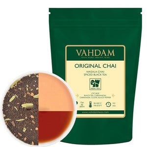 Indiens Original Masala Chai Tea Loose Leaf (200+ Tassen), 454gr