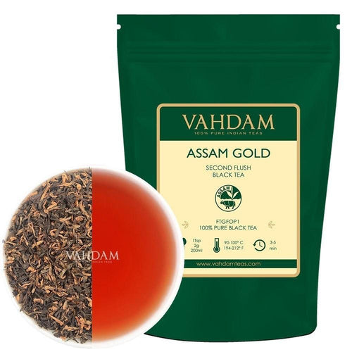 Assam Gold Second Flush (50 Tassen) | 100gr