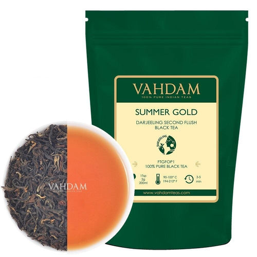Sommer Gold Darjeeling Second Flush (50 Tassen) | 100gr