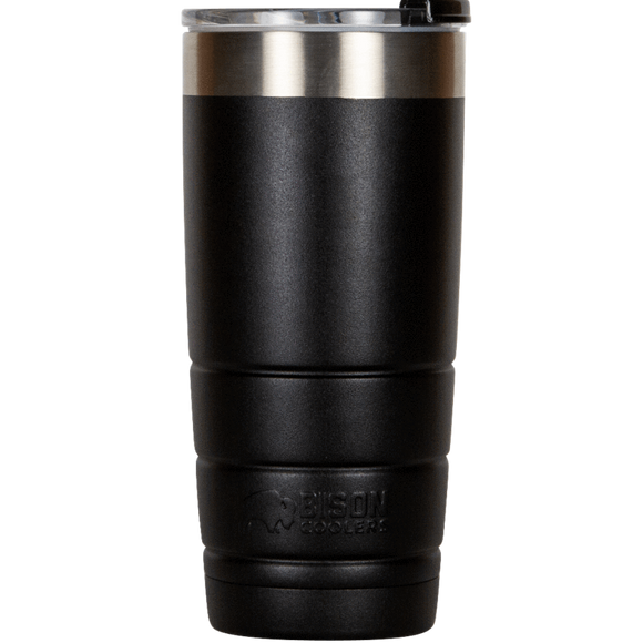 22oz Bison Tumbler black