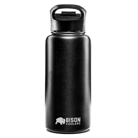 Bison Bottle - 32oz Stainless Steel