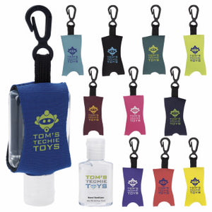 .5 oz Custom Label Hand Sanitizer with Leash